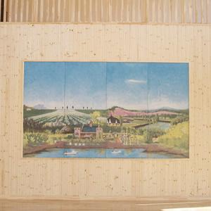 オーダータイル オーダー壁紙 製作事例 壁画