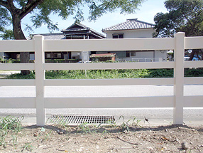 柵・ランチレールの施工例