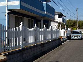ピケットフェンスの施工例