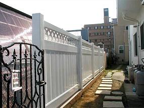 プライバシーフェンスの施工例